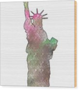 Statue Of Liberty 2 Wood Print