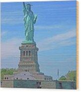 Statue Of Liberty 21 Wood Print