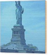 Statue Of Liberty 22 Wood Print