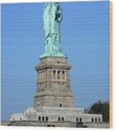 Statue Of Liberty 3 Wood Print