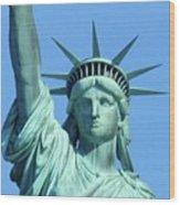 Statue Of Liberty 5 Wood Print