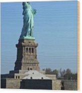 Statue Of Liberty 6 Wood Print