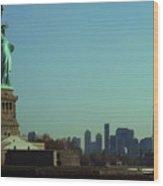 Statue Of Liberty 7 Wood Print