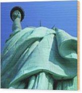 Statue Of Liberty 9 Wood Print