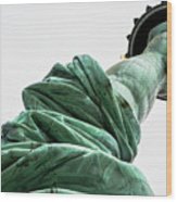 Statue Of Liberty, Arm, 3 Wood Print