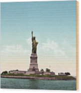 Statue Of Liberty, C1905 Wood Print