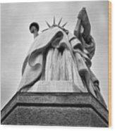 Statue Of Liberty, Tall Wood Print