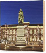 Statue Of William Of Orange On The Plein - The Hague Wood Print