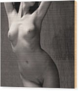 Statuesque #3 Wood Print