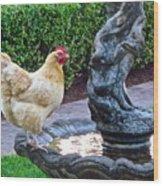 Statuesque Wood Print