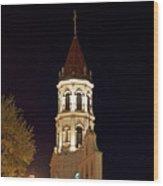 St.augustinespire Wood Print