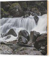 Stave Falls Wood Print