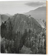 Stawamus Chief, Squamish, British Columbia, Canada, Tilt-shift Wood Print by Brian Caissie