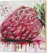 Stawberry 1 Wood Print