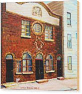 St.dominique Street Synagogue Wood Print