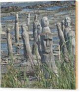 Ste Flavie Wood Print