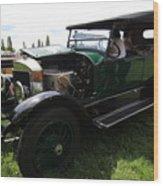 Steam Car Wood Print