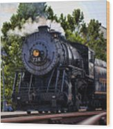 Steam Engine Of Cumberland Wood Print
