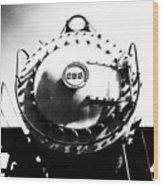 Steam Locomotive #253 Wood Print