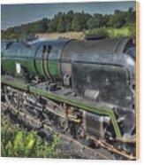 Steam Locomotive 34027 The Taw Valley Wood Print