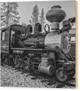 Steam Locomotive 5 Wood Print