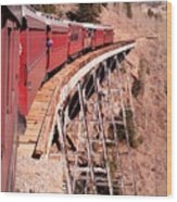 Steam Train Wonder.. Wood Print