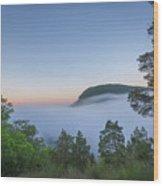 Steam Valley  Wood Print