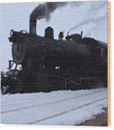 Steam Wood Print