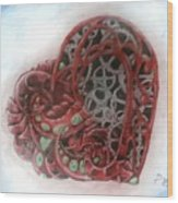 Steamalt1  Wood Print