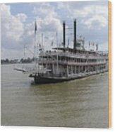 Steamboat Natchez 2 Wood Print