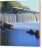Steamboat Rock Panorama 2 Wood Print