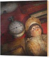 Steampunk - 9-14  Wood Print