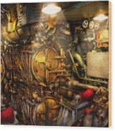 Steampunk - Naval - The Torpedo Room Wood Print