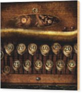 Steampunk - Remuneration Mechanism Wood Print