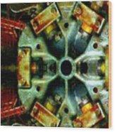 Steampunk Machination 1 Wood Print