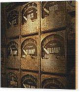 Steampunk - Naval - Electric - Power Grid Wood Print