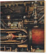 Steampunk - No 8431 Wood Print