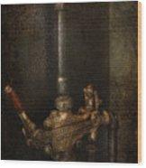 Steampunk - Plumbing - Number 4 - Universal  Wood Print