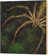 Steampunk - Spider - Arachnia Automata Wood Print