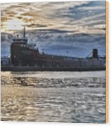Steamship William G. Mather - 1 Wood Print