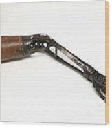 Steel Hand And Arm, C. 1890 Wood Print
