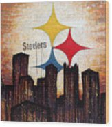 Steelers. Wood Print