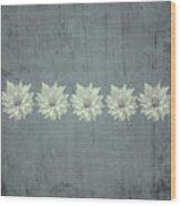 Steely Gray Bluer Version Wood Print