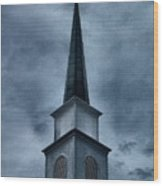 Steeple II Wood Print