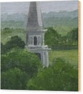 Steeple  Wood Print by Toni Berry