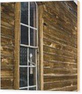 Steeple Window Wall Wood Print