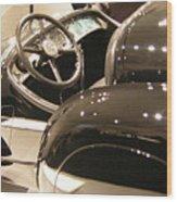 Steering Wood Print