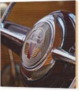 Steering Wheel Wood Print