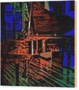Steinway Piano Wood Print