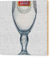 Stella Artois Chalice Painting Collectable Wood Print